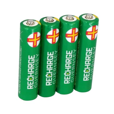 Battery Aaa aaa nimh rechargeable batteries 800mah 4 pack 7dayshop