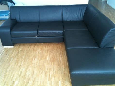 leather l shaped sofa bed l shaped black leather bed sofa zurich english forum