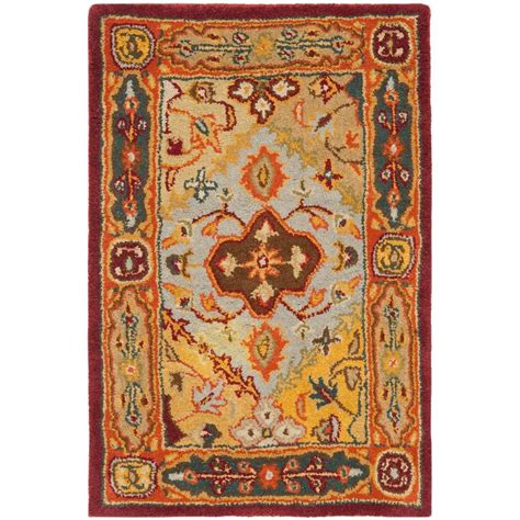 Safavieh Heritage Rug by Safavieh Heritage Multi 2 Ft 3 In X 4 Ft Area Rug