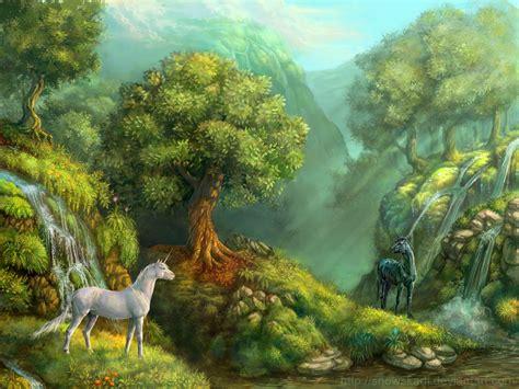 Imagenes De Unicornios En Negro   unicornios blanco y negro de snowskadi seres