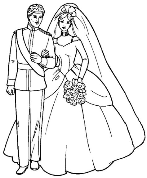 coloring pages wedding dresses transmissionpress the wedding dresses princess coloring