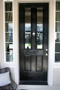 How To Paint A Front Door Black Painted House Numbers Jones Design Company