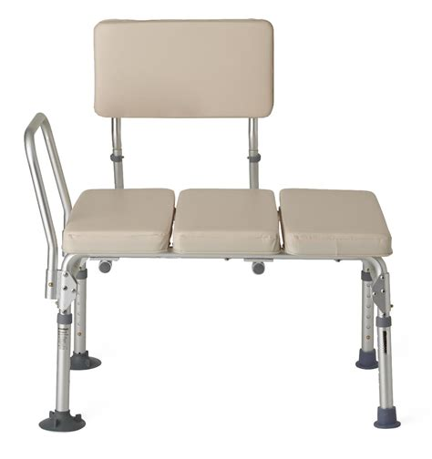 guardian padded transfer bench g98338f padded transfer benches