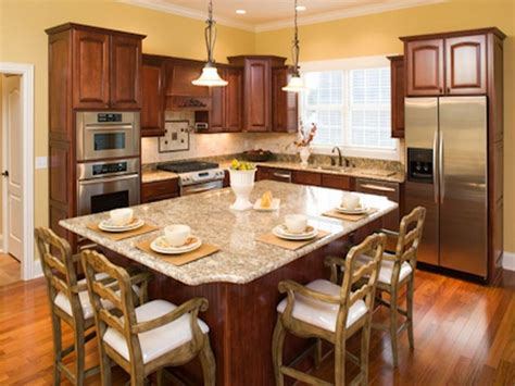 eat in kitchen island designs eat in kitchen design with dining island hate those chairs but like the overall setup home