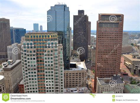 haircuts boston financial district boston financial district skyline stock images image