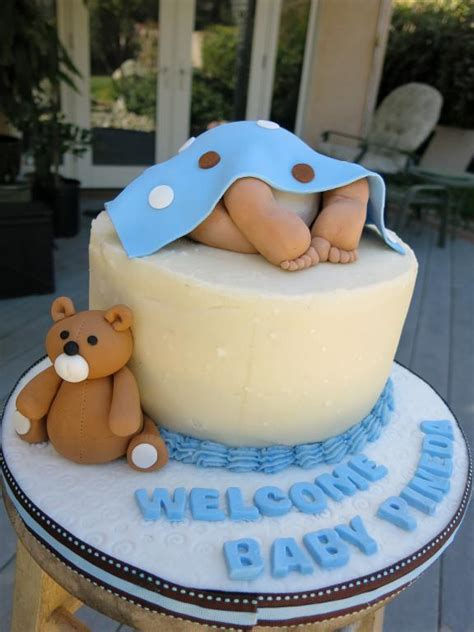 Cake Decorations For Baby Boy Shower by 70 Baby Shower Cakes And Cupcakes Ideas