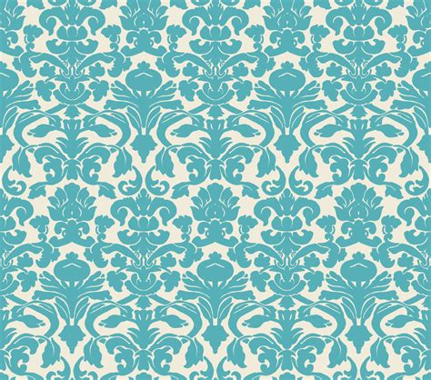background pattern teal damask wallpaper by insurrectionx on deviantart