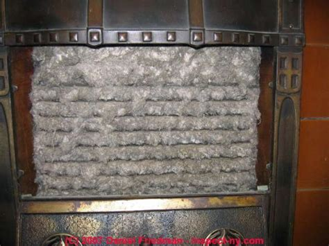 remove gas fireplace insert 1890s asbestos fireplace insert leave alone or