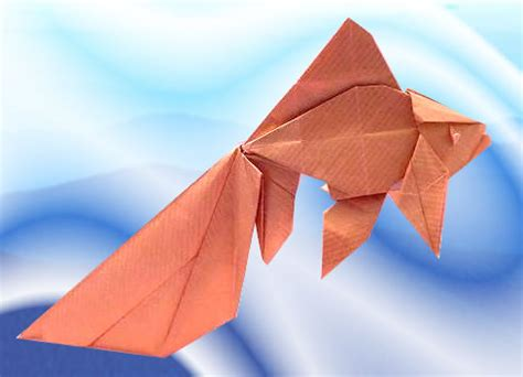 How To Make An Origami Goldfish - origami goldfish 28 images origami n stuff 4 origami