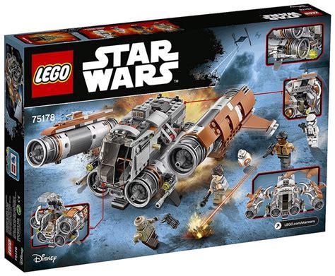 le wars lego wars 75178 pas cher le quadjumper de jakku
