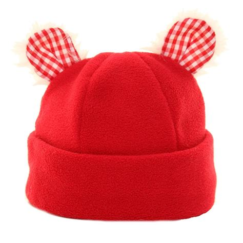 b229 babies soft fleece hats with novelty ears ssp hats