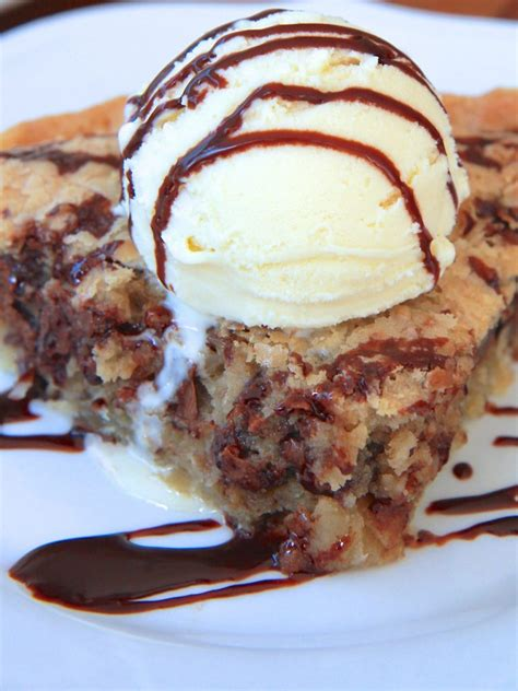 chocolate chip cookie pie for pi day love from the oven deep dish chocolate chip cookie pie recipe divas can cook