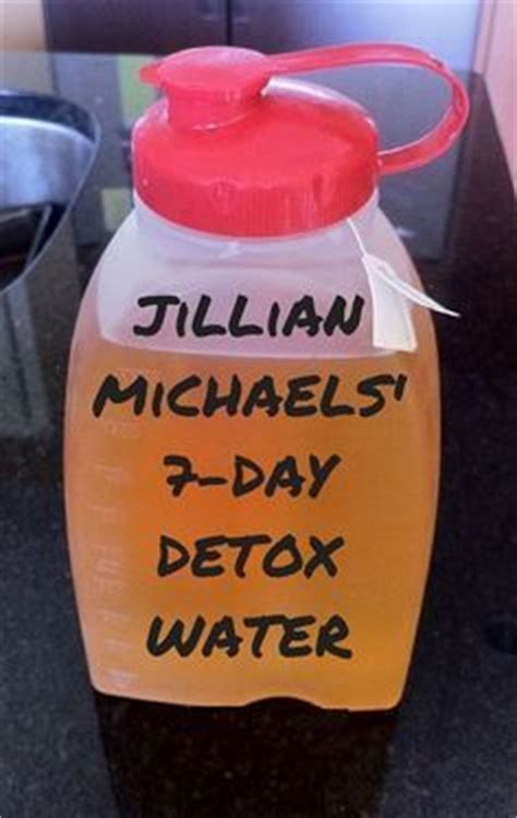 Diet By Design Detox by Jillian Michael S 7 Day Detox Water Healthy Meals