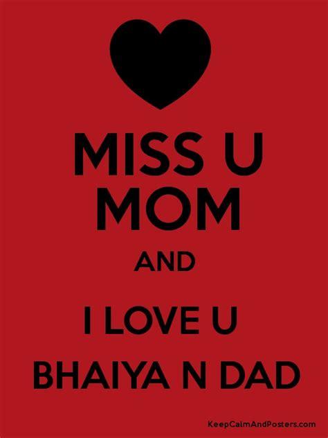 images of love u n miss u love u mom dad pic