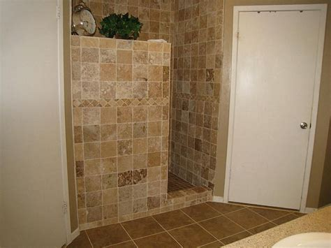 Shower Stall Without Door Doorless Walk In Shower Dimensions Studio Design Gallery Best Design