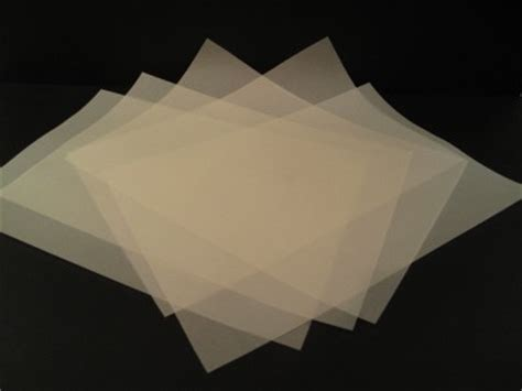 How To Make Translucent Paper - 25 x a4 vellum translucent tracing paper 110gsm laser