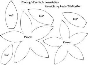 felt shape templates felt poinsettia templates search felt