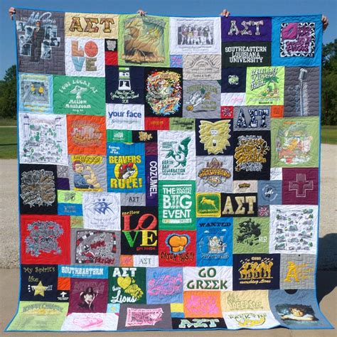 Quilt From T Shirts by Uploaded By User
