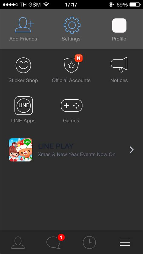 themes line unofficial แนะนำ line theme dark edition โดย ipound pk เหมาะ