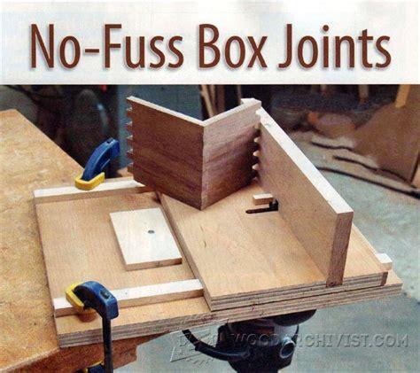 finger joint jig plans woodarchivist