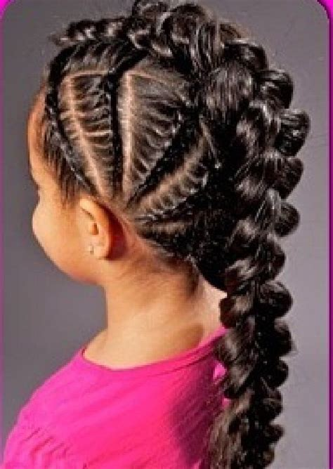 plait hair parents cute braid hairstyle for black girls google search mod