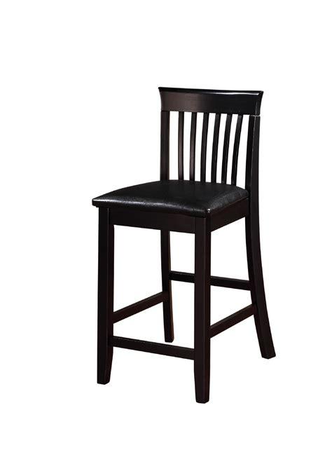 linon torino collection craftsman counter stool