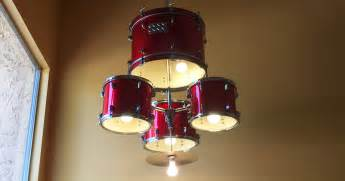 Diy Chandelier Kit How To Make A Drum Set Chandelier