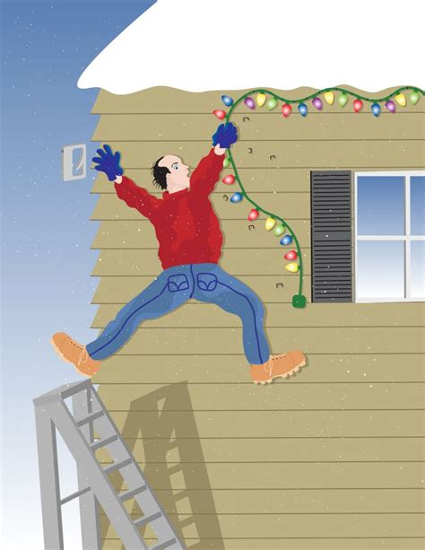 ladder safety archives your holiday lights blog