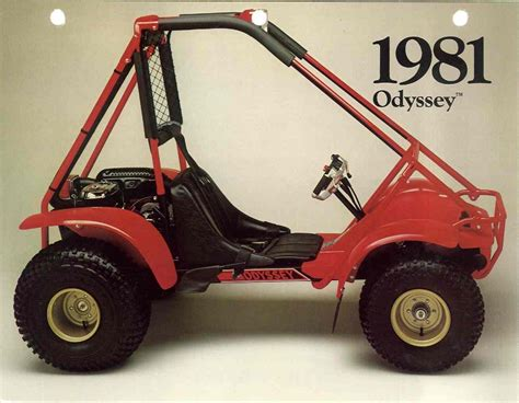 Honda Odyssey Atv by Honda Odyssey Atv Pictures Vintage Ads Brochures