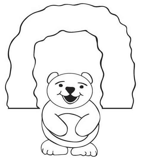 coloring page bear cave coloring cartoon cave coloring pages