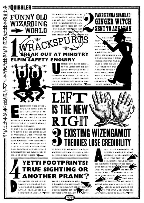 printable quibbler picture harry potter say it in an english accent
