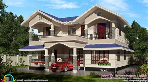 1900 sq feet kerala model sloping roof house house 2100 sq ft typical kerala sloping roof kerala home