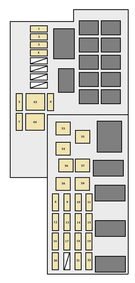 2006 toyota camry fuse box location wiring diagrams