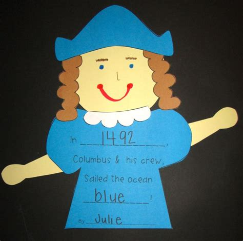 christopher columbus crafts for sailing into columbus day literacy activities and