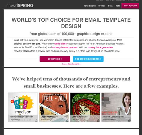 8 best images of email marketing design template free