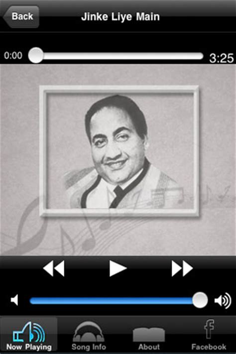 best songs of mohd. rafi music entertainment free app for