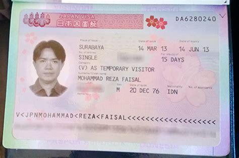 pembuatan visa jepang di surabaya image