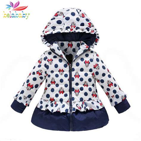 8 Cutest Winter Coats For by Belababy Winter Coat Children Polka Dot Hooded