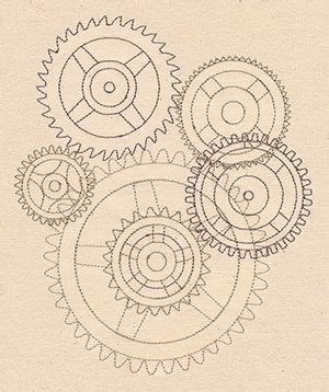 zentangle pattern cogwheel 200 best images about zentangle outlines on pinterest