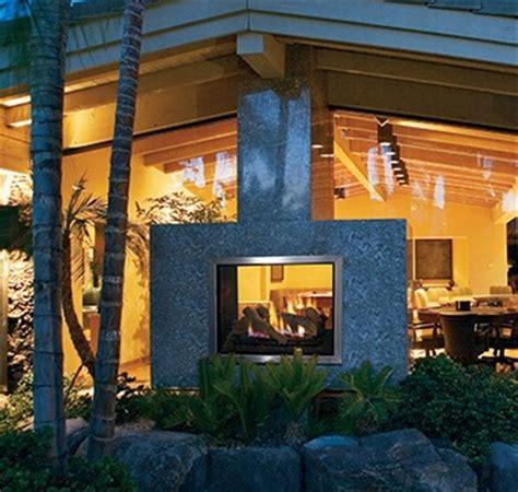 Montebello See Through Fireplace by Montebello Dlx See Through