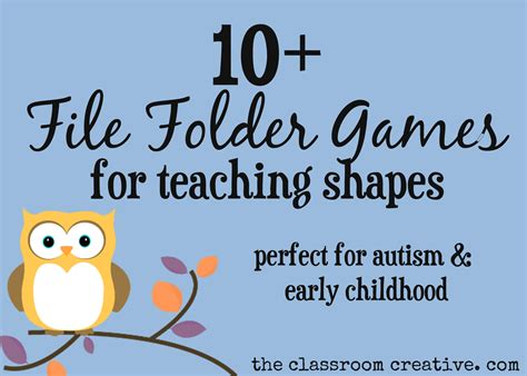 File Folder Games For Teaching Shapes | pin yay area graphics code comments on pinterest