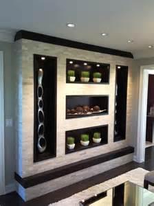 Modern Dining Room Wall Units Contemporary Wall Unit Custom Kitchen Bathroom