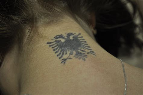 albanian tattoo the eagle your