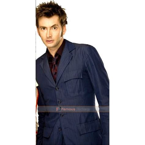 david tennant blue suit doctor who david tennant blue pinstripe suit