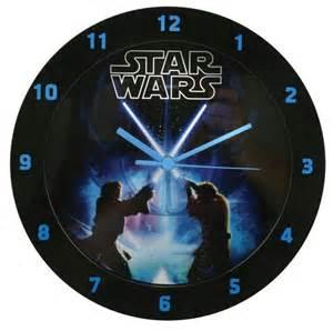 Marvel Room Decor Star Wars Printed Wall Clock Gifts Zavvi Com