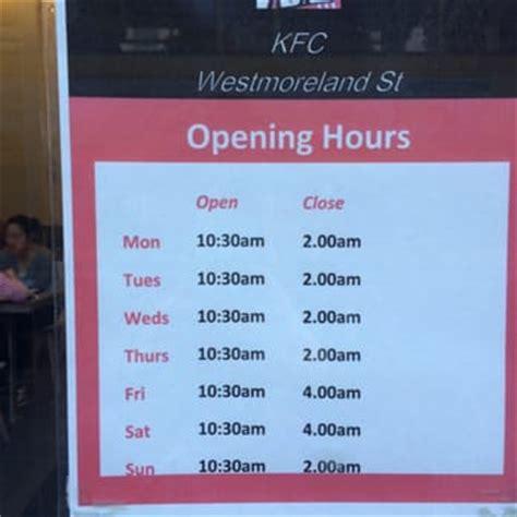 kfc takeaway & fast food 16 west moreland street