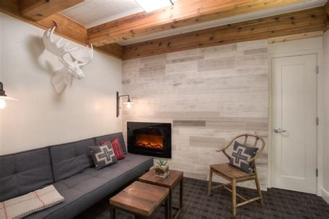 Basement wall ideas basement contemporary with wood window