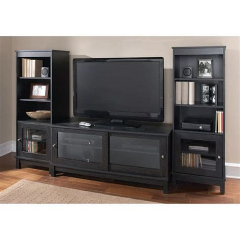 entertainment center bookshelves wall entertainment center unit tv stand w doors bookshelves system book storage