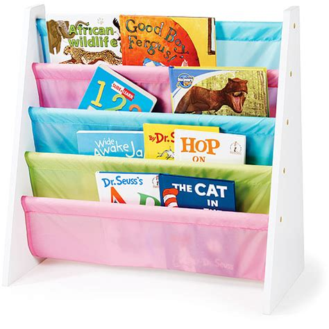 tot tutors pastel book rack walmart