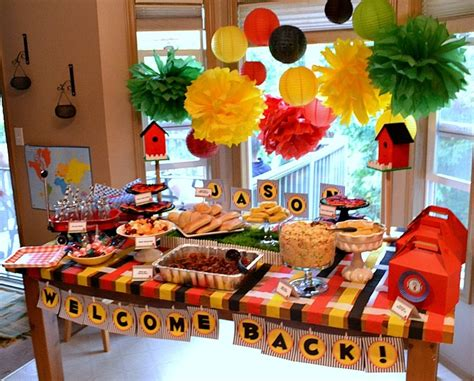 home decorating party welcome home party decorations marceladick com